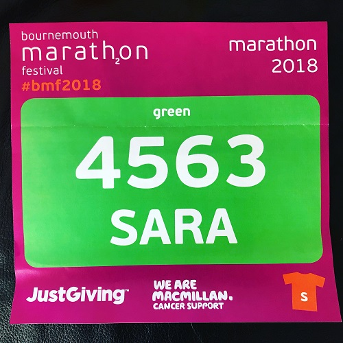 Bournemouth Marathon and a New PB!