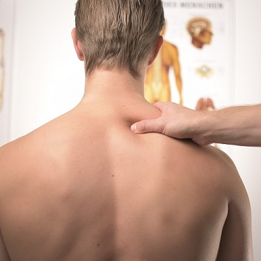 Massage for shoulder pain in Neath