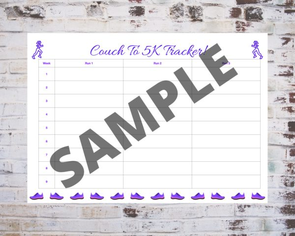 Couch To 5K Tracker in Purple