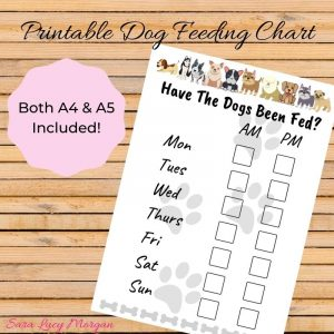 Printable Have The Dogs Been Fed